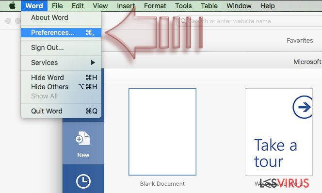 instantanea di Come disabilitare le macro su Windows e su Mac OS X?