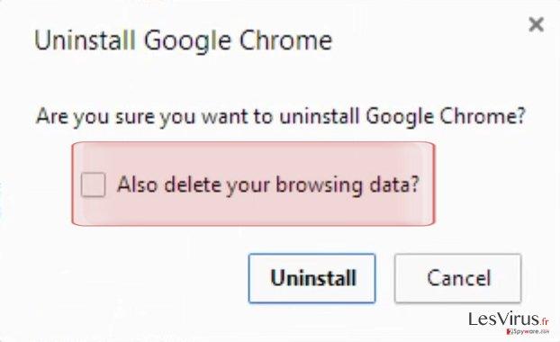 instantanea di Come effettuare il reset di Google Chrome?
