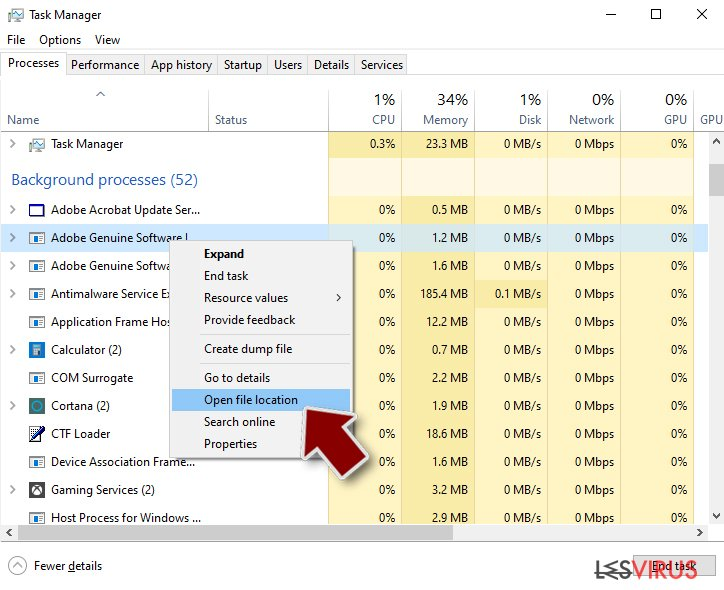 Ransomware: rimozione manuale del ransomware in Modalità Provvisoria