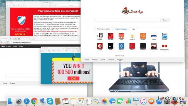 instantanea di Le cyber minacce che dovreste evitare quest'anno: adware, browser hijackers e virus ransomware