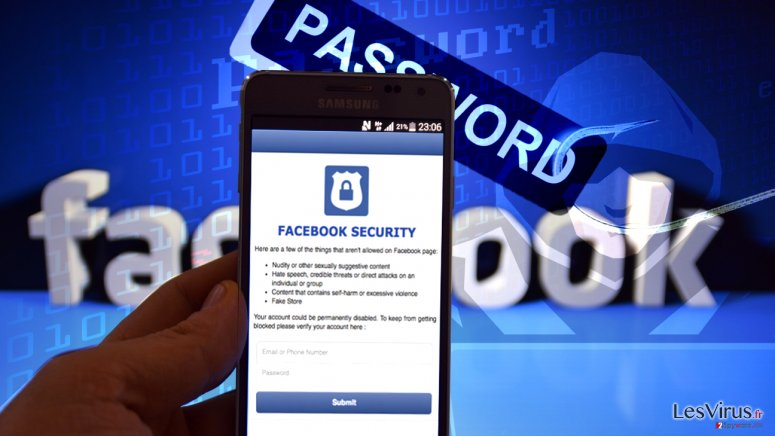 Your page will be unpublished scam