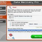 instantanea di Data Recovery Pro