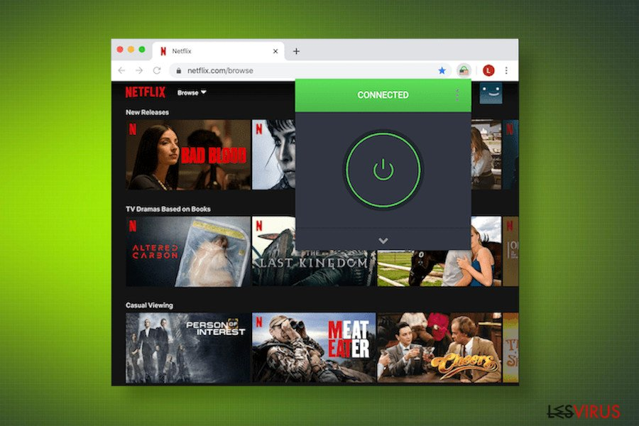 Personal Internet Access opens Netflix