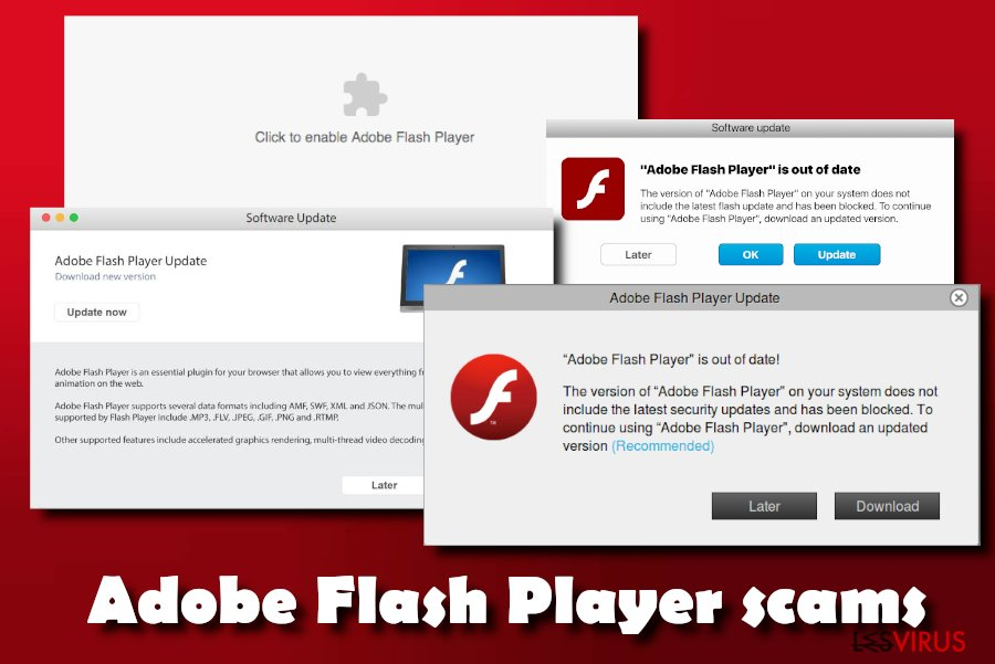 instantanea di Flash Player Update!