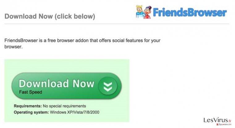 instantanea di Annunci pubblicitari da FriendsBrowser