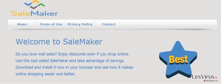 instantanea di Le pubblicità di SaleMaker