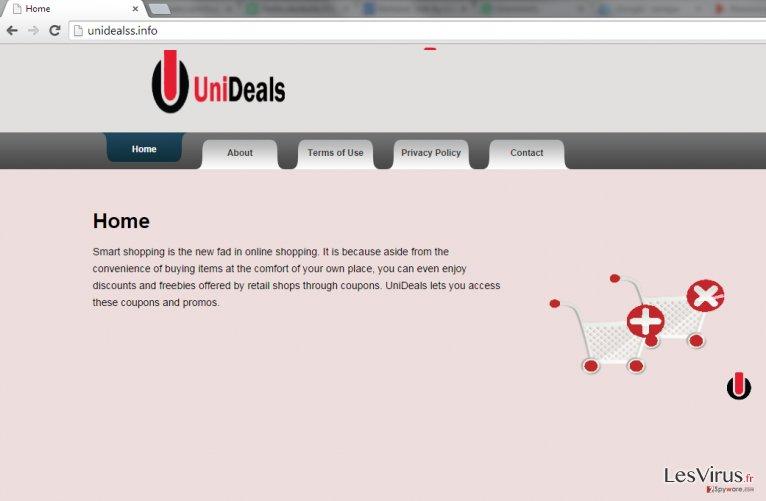 instantanea di Ads by UniDeals