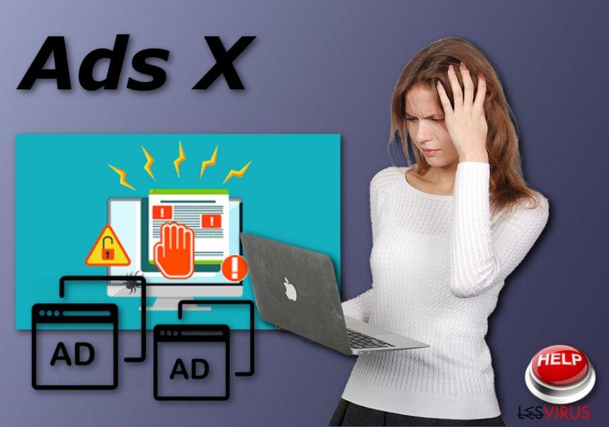 L'adware Ads X