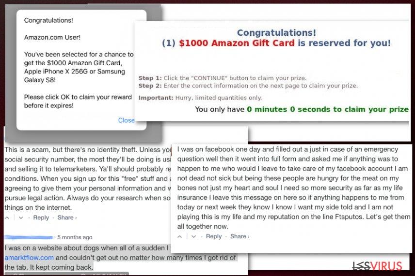 I finti premi di Amarktflow
