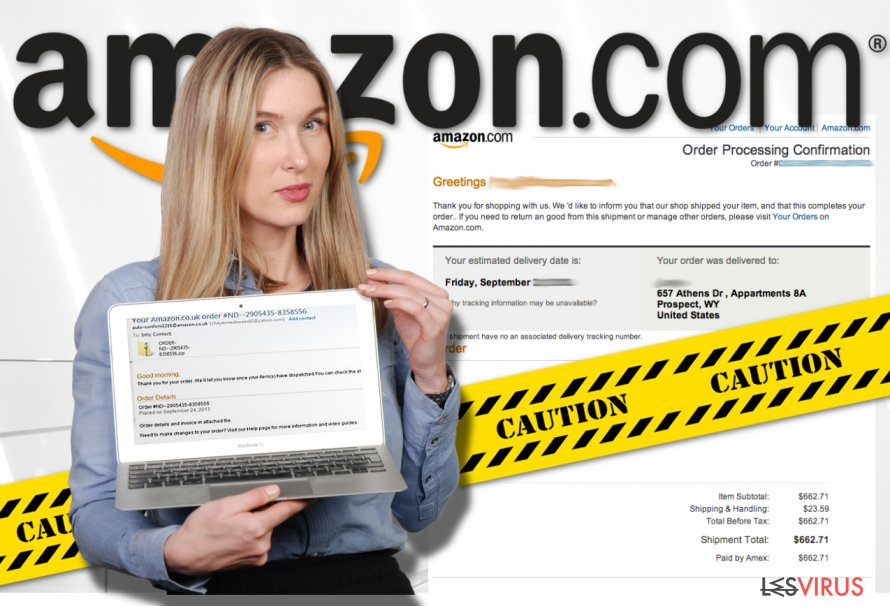 instantanea di Il virus Amazon