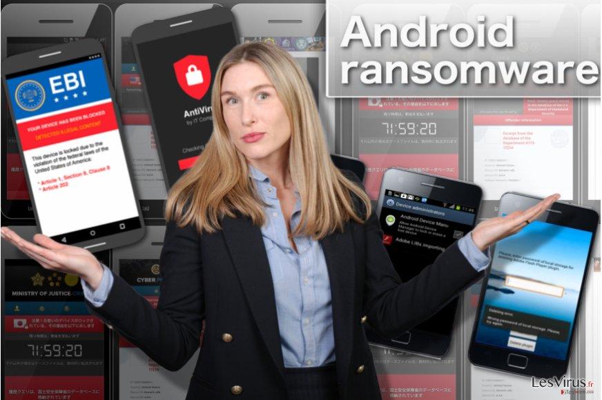 instantanea di Il ransomware Android