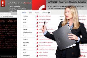 Il virus ransomware Bad Rabbit