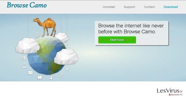 instantanea di Le pubblicità di Browse Camo