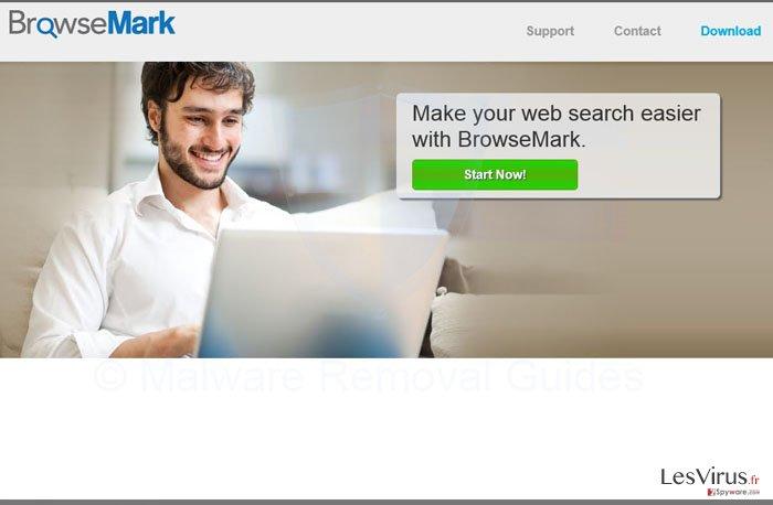 instantanea di il virus BrowseMark