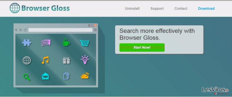 instantanea di Le pubblicità di Browser Gloss