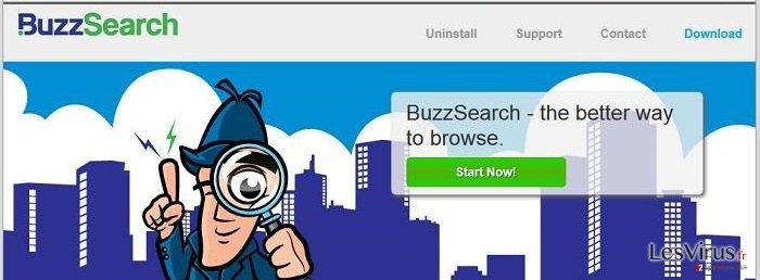 instantanea di BuzzSearch