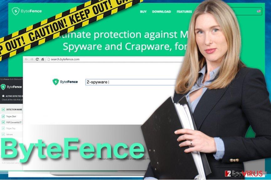 Un'immagine di ByteFence