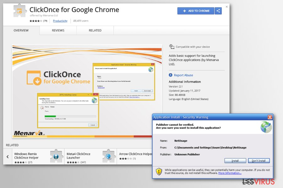 file dannosi chrome