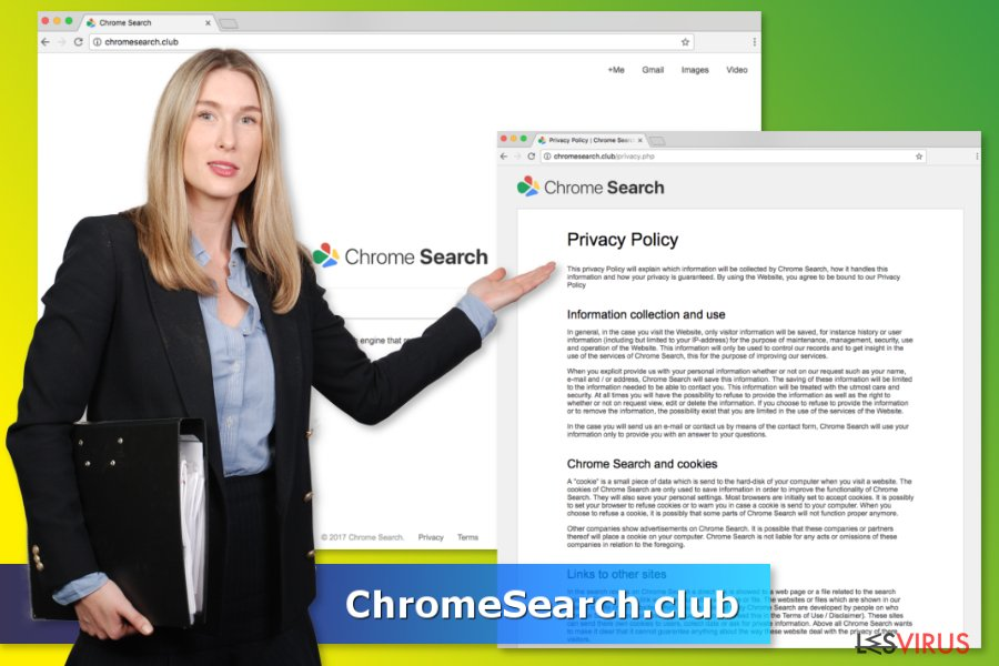 Il virus ChromeSearch.club