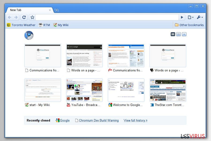Chromium superbrowser