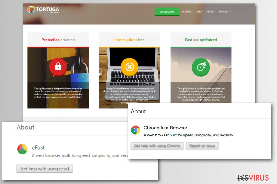 Il virus browser fake Chromium