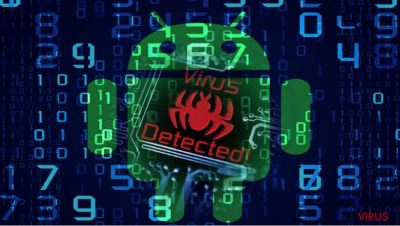 Un'immagine del malware Android com.google.provision
