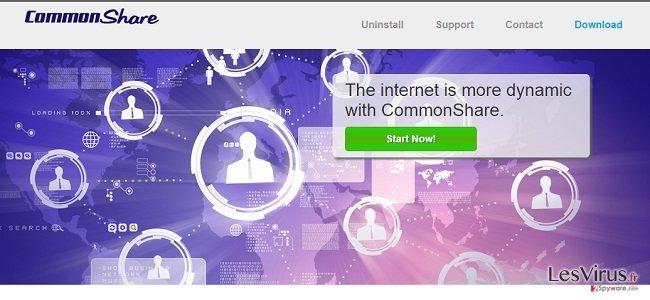 instantanea di le pubblicità ed offerte di CommonShare