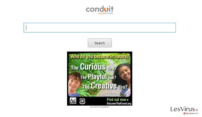 instantanea di Storage.conduit.com redirect