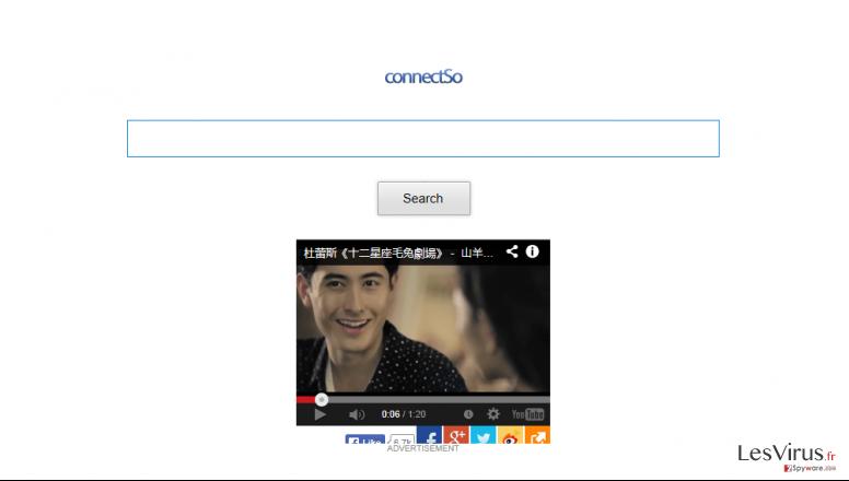 instantanea di Il Toolbar ConnectSo