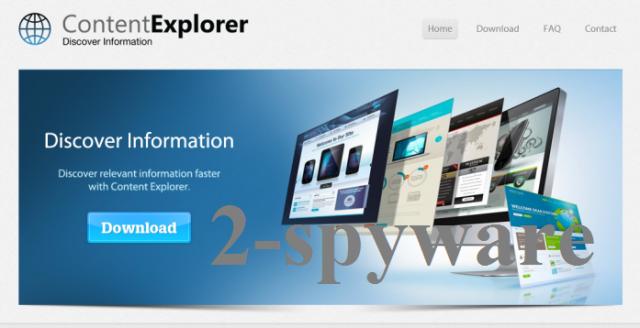 instantanea di Content Explorer