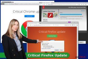 Il virus dell'Aggiornamento Critico di Firefox