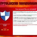 instantanea di Cryptolocker
