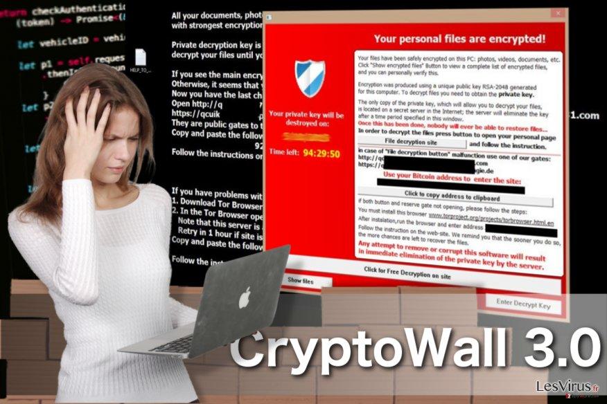 instantanea di Il virus CryptoWall 3.0