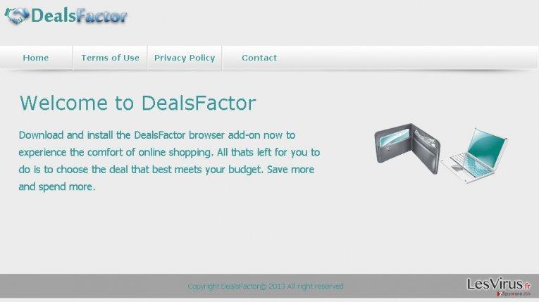instantanea di DealsFactor virus