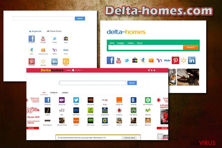 instantanea di Delta-homes.com