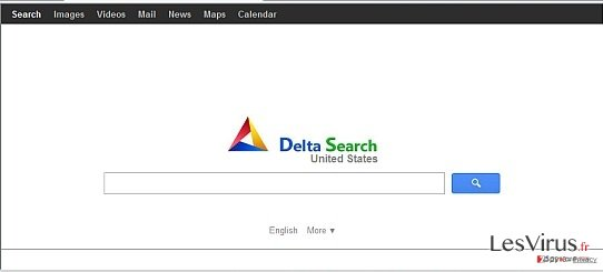 instantanea di Delta-search.com redirect