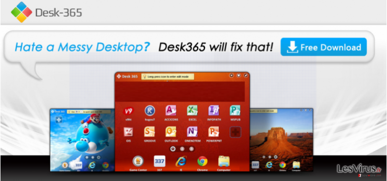 instantanea di Desk 365 virus