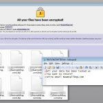 instantanea di Il virus ransomware Dharma