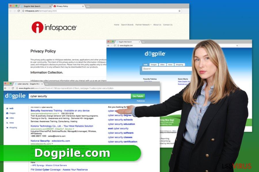 instantanea di Dogpile.com