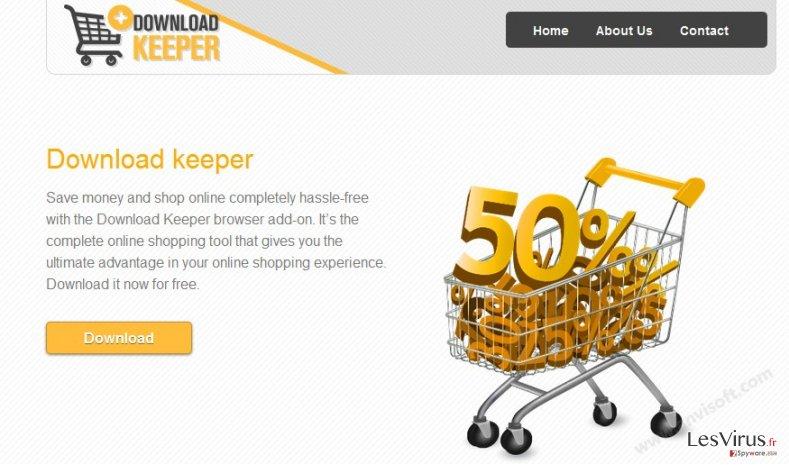 instantanea di Le pubblicità di Download Keeper