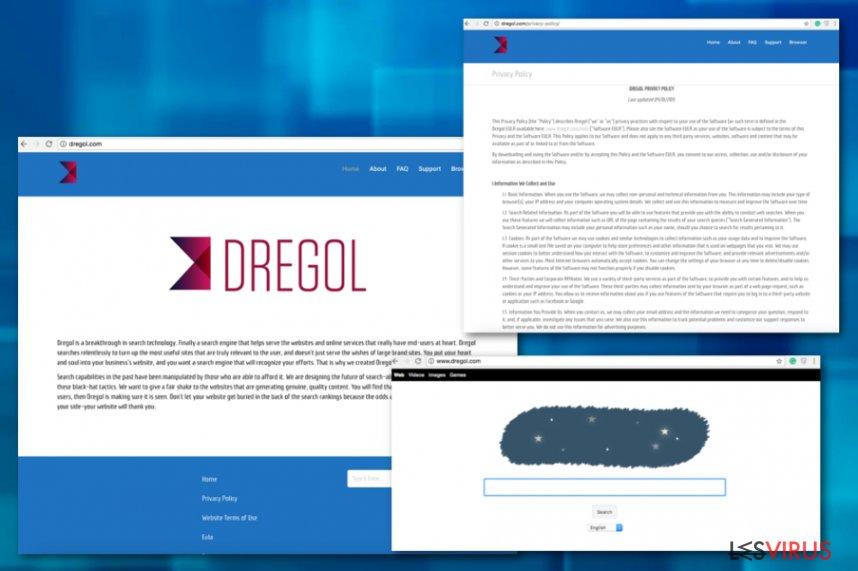 instantanea di I reindirizzamenti di Dregol.com