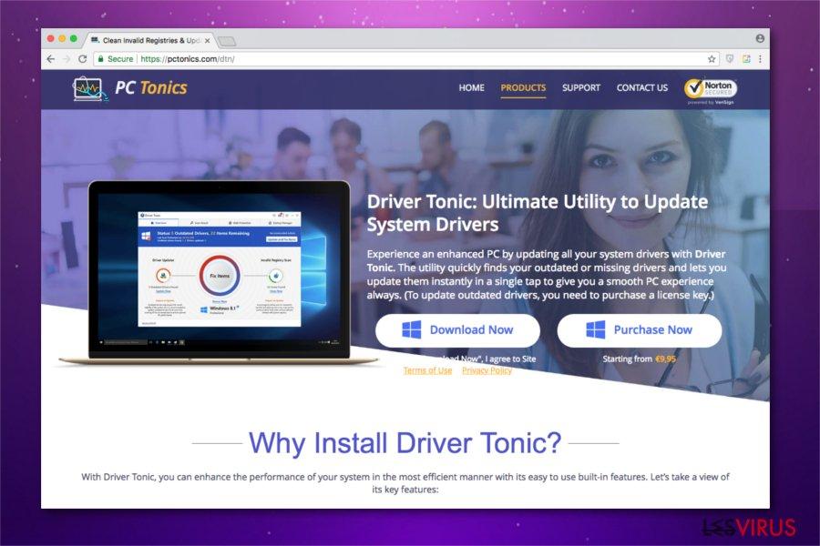 Un'immagine di Driver Tonic