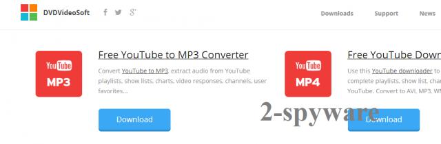 instantanea di DVDVideoSoft Toolbar