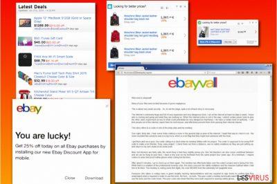 Le varianti del virus eBay