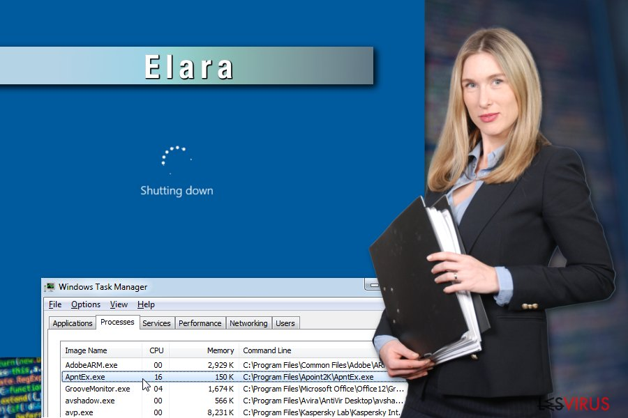 Alcuni esempi dell'app Elara