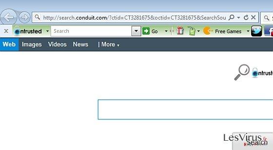 instantanea di Entrusted Toolbar