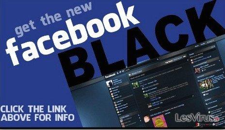 instantanea di Facebook Change Color virus