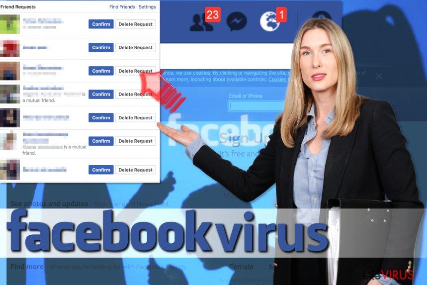 Virus delle Richieste d'Amicizia di Facebook