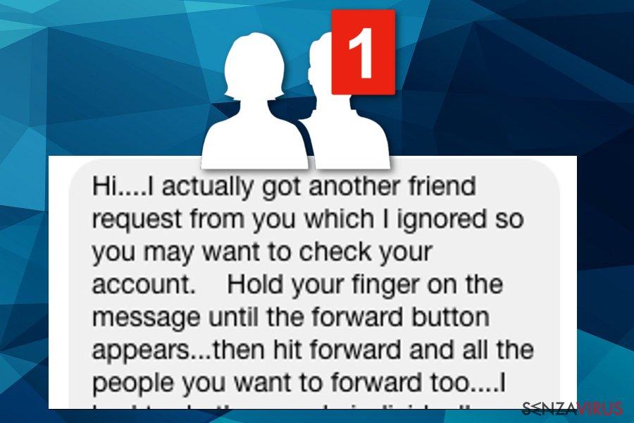 Virus delle Richieste d'Amicizia di Facebook del 2018