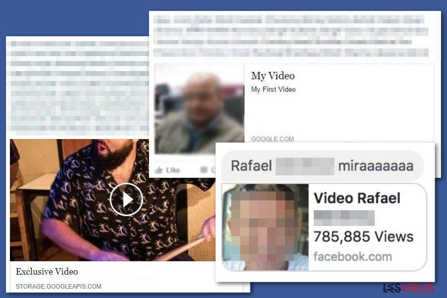 instantanea di Il virus video di Facebook